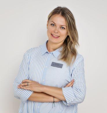 Beata Norek rejestrator medyczny w centrum fizjoterapii w Katowicach